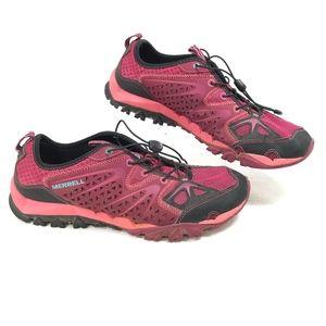 Merrell Capra Rapid Red Mesh training running Shoe
